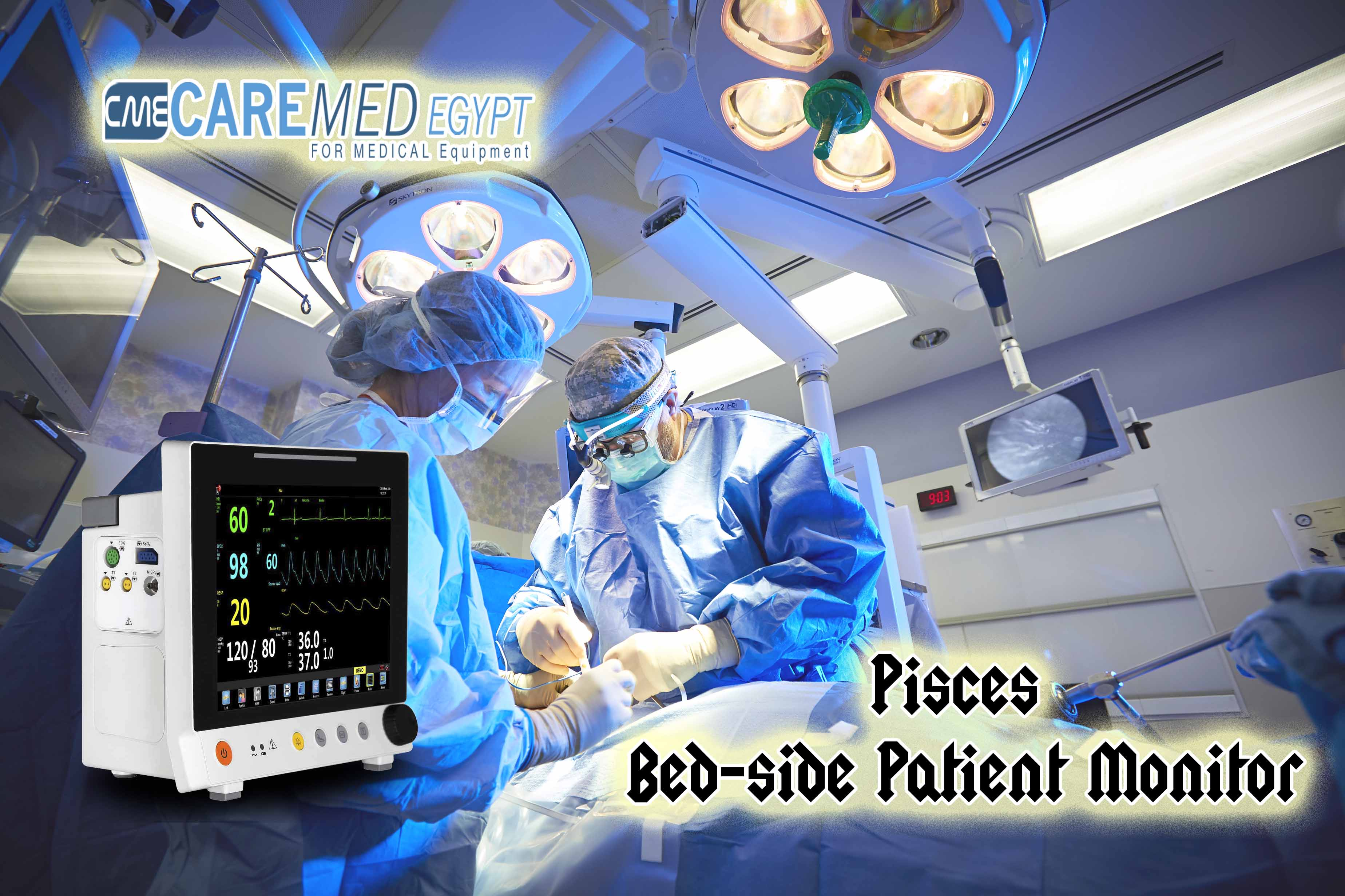 Pisces Bed-side Patient Monitor