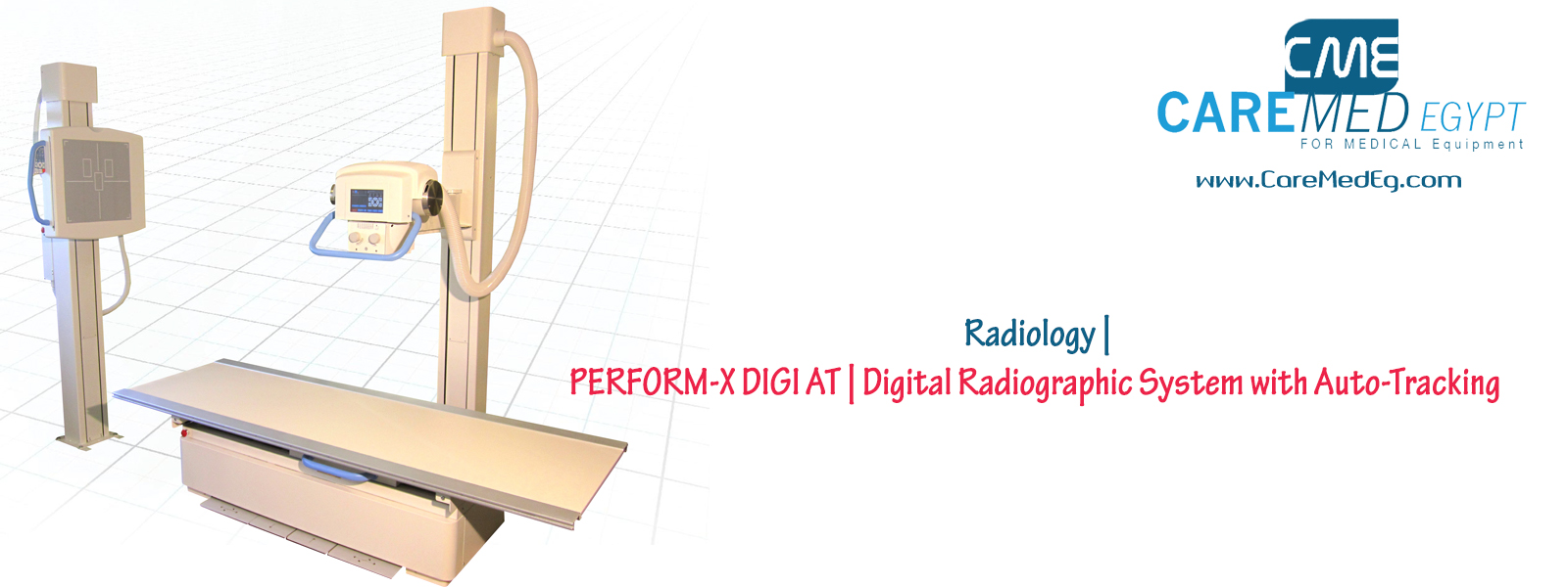 PERFORM-X DIGI AT   Digital Radiographic System with Auto-Tracking